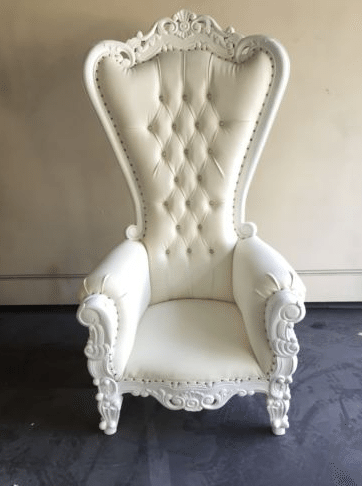 Victorian Throne Chair Ocean Tents