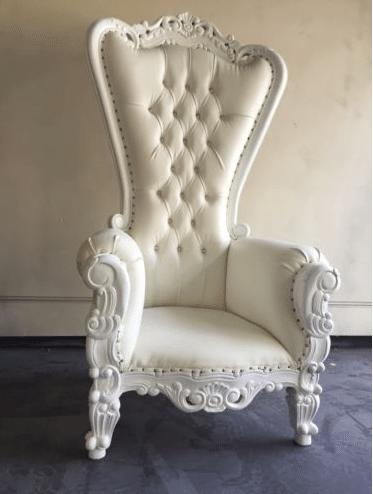 Victorian Throne Chair & Victorian Throne Chair - Ocean Tents