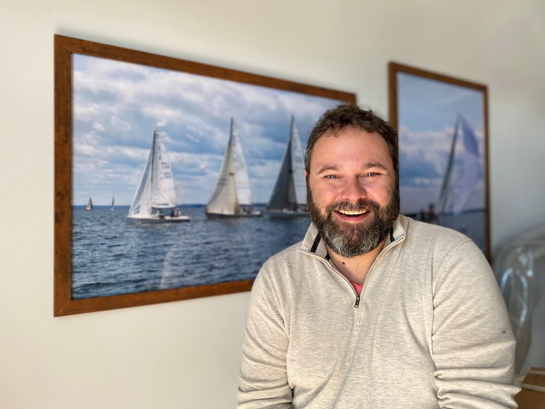 Mike Carey, Dauntless, Nova Scotia, Ocean Yacht Sales