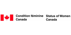 Logo of OCISO funder: Status of Women Canada