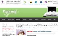 Ottawa Carleton District School Board LINC/ESL for Adults
