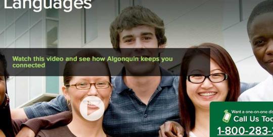 Algonquin College, ESL Program