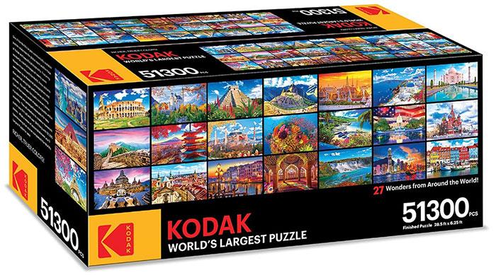 kodak 50000 piece puzzle