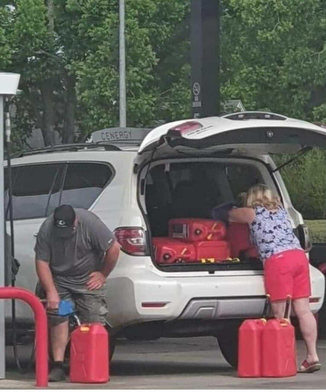 fuel shortage panic