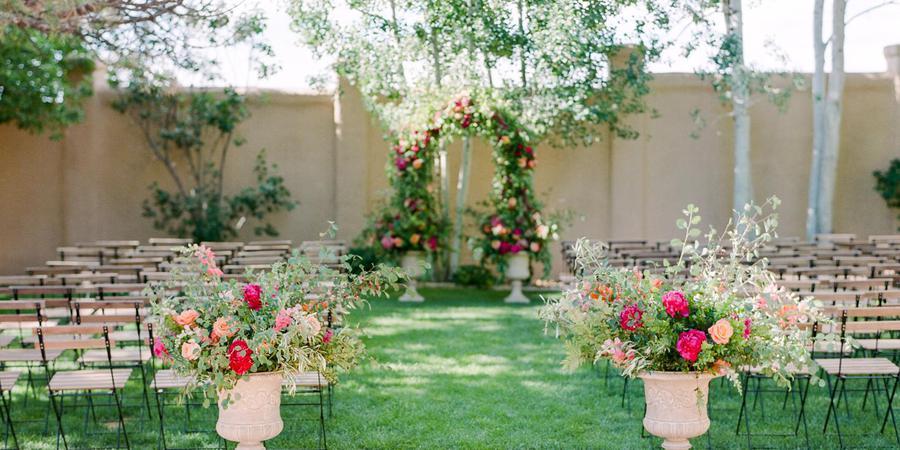 villa parker outdoor wedding