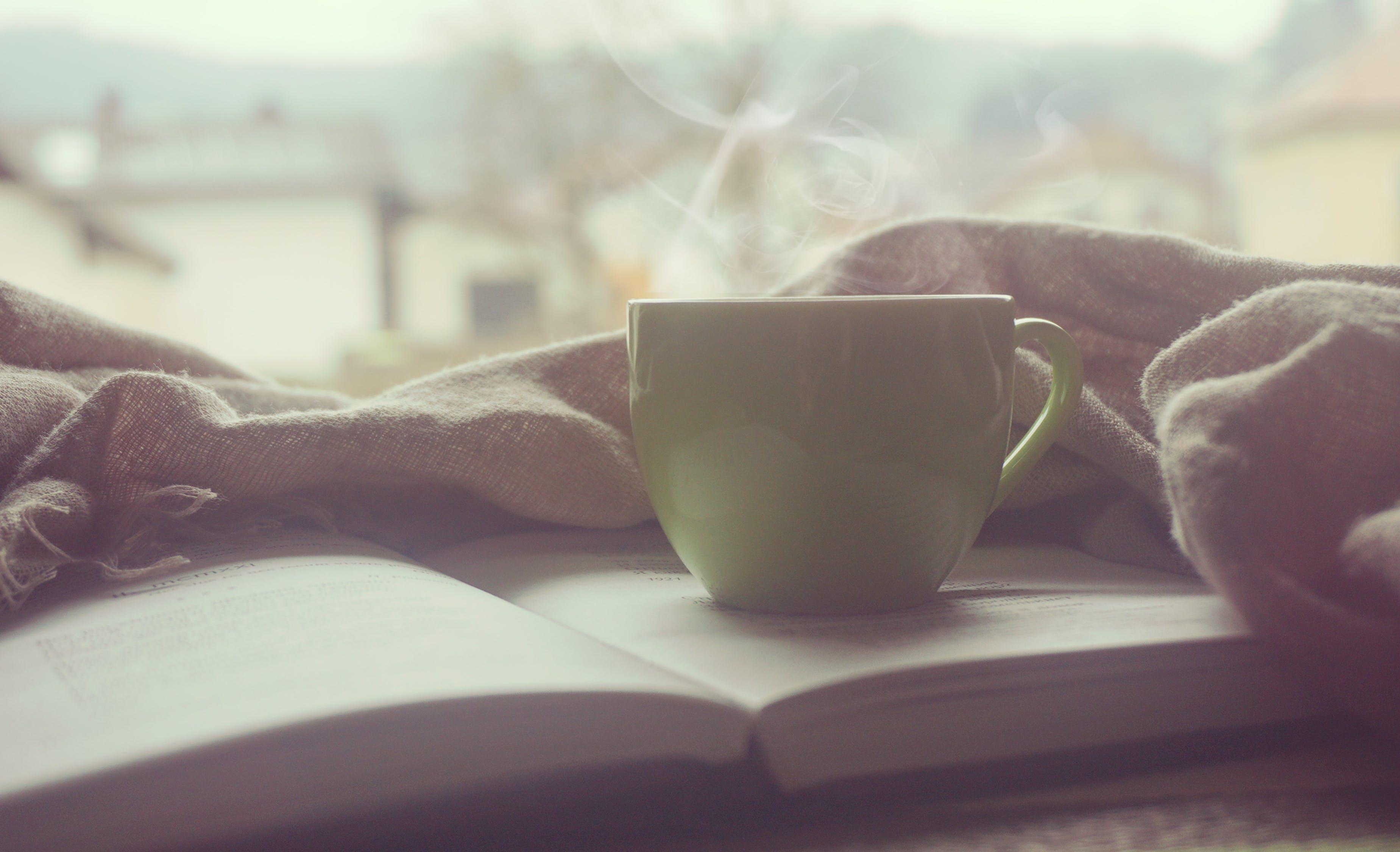 book, mug