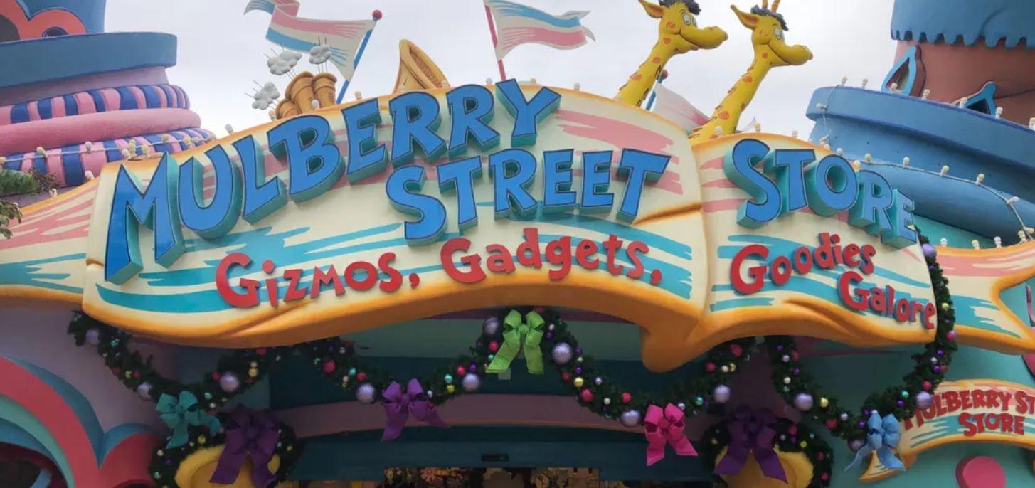 theme park store