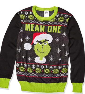 grinch sweater mean one