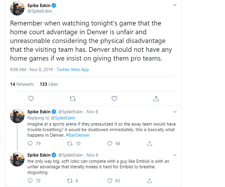 ban denver home games
