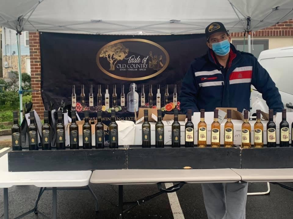 farmers' market, bottles