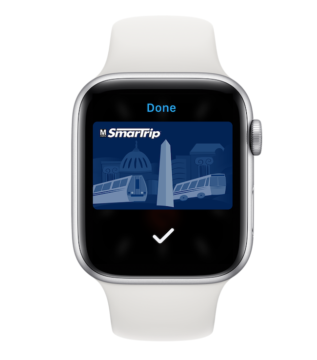 SmarTrip Apple Watch app