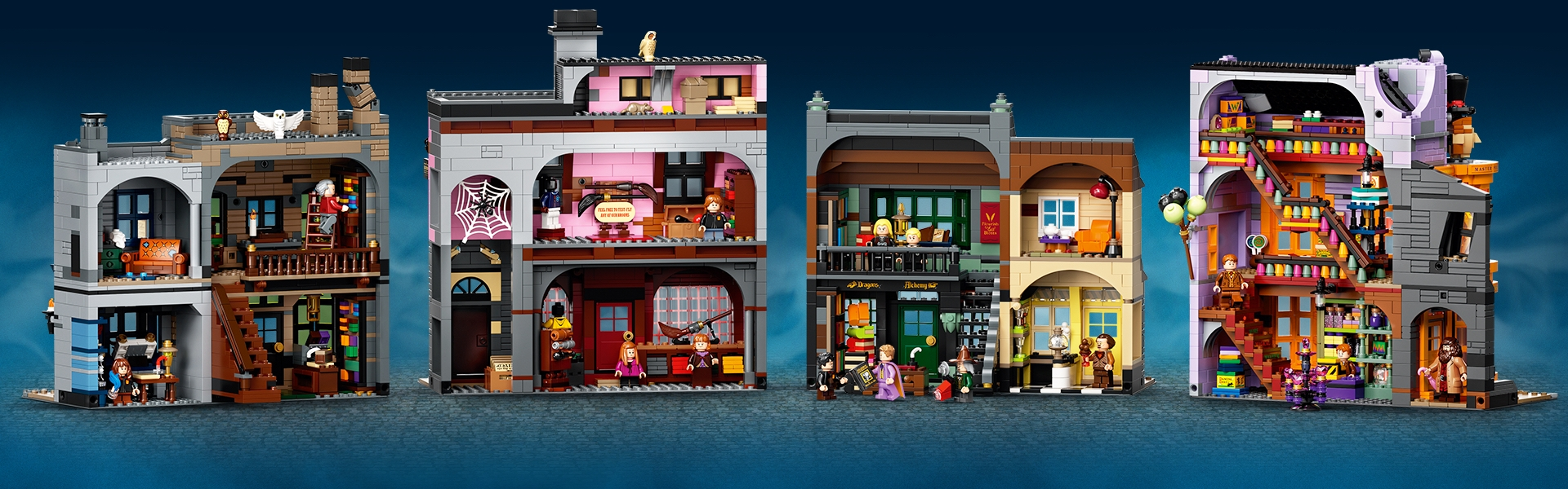 diagon alley lego set