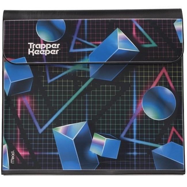 Trapper Keeper geometric design