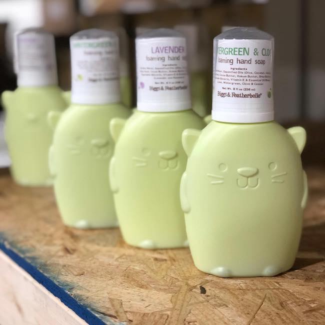 Biggs and Featherbelle liquid soap