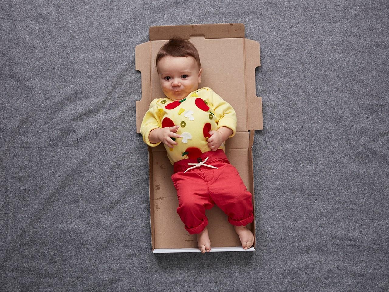 baby pizza costume