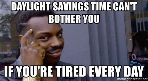 daylight saving meme