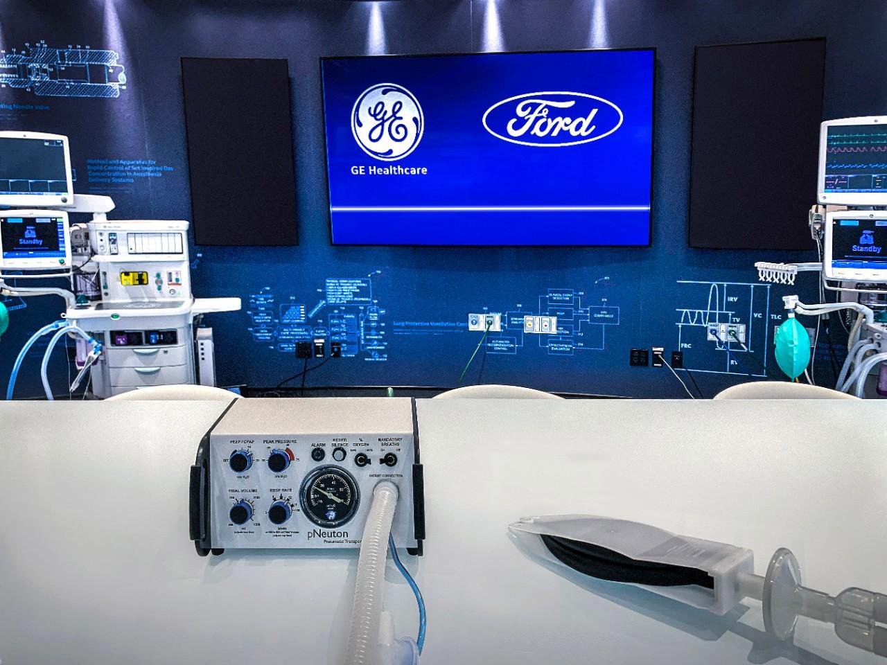 ford makes ventilators