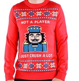 sweater nutcracker