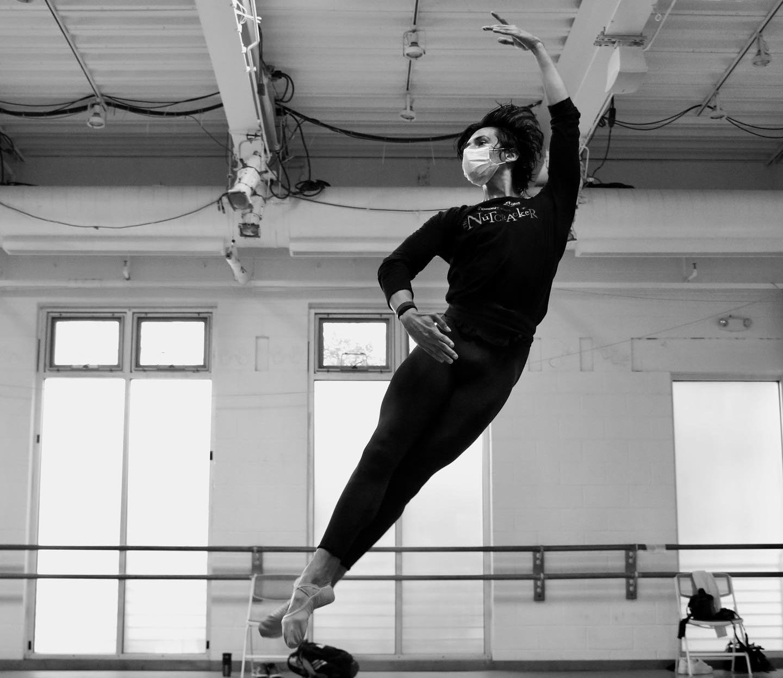 ballet, jump