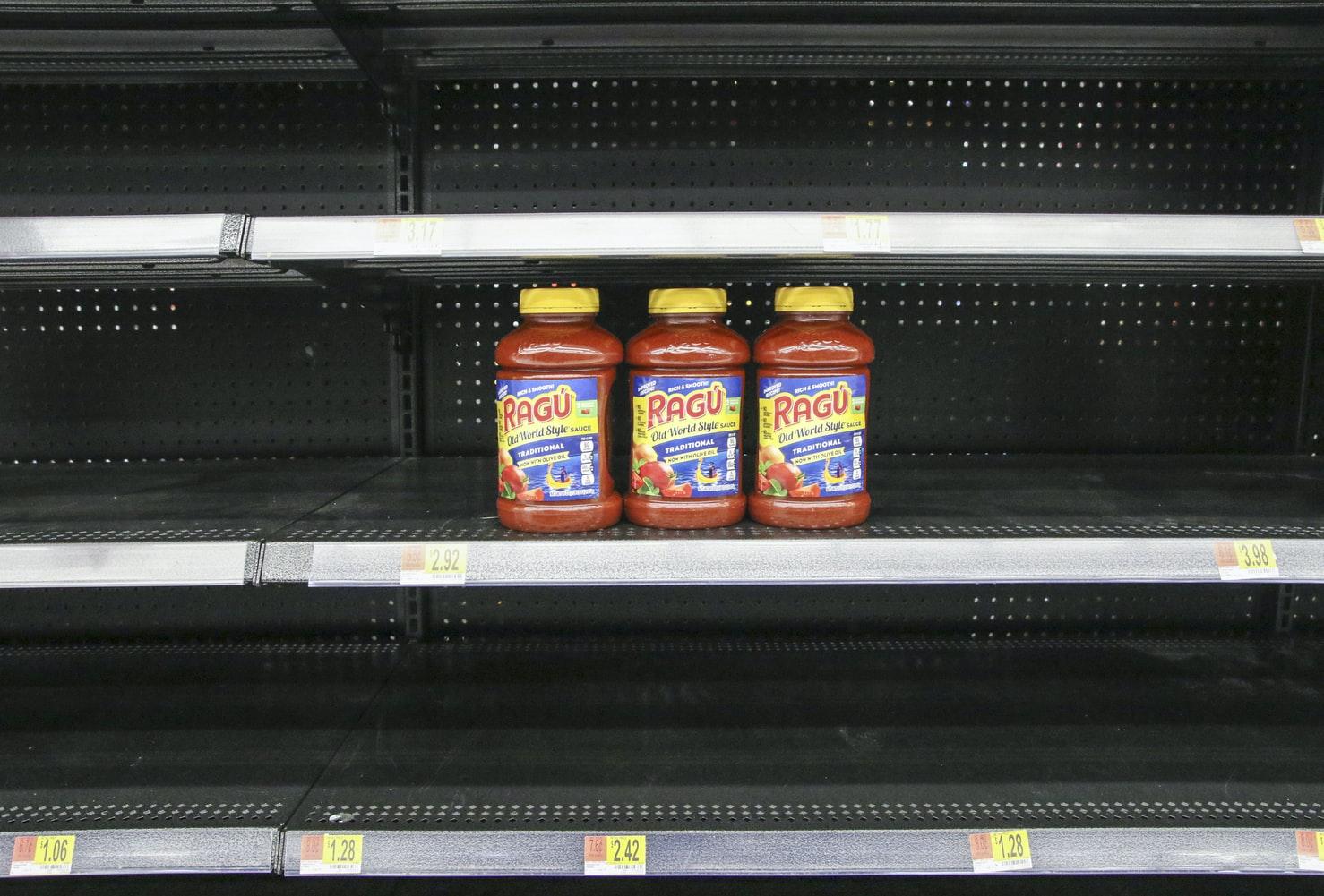 jars, spaghetti sauce