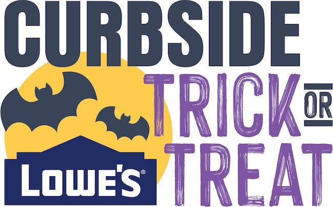 Lowe's curbside trick-or-treat