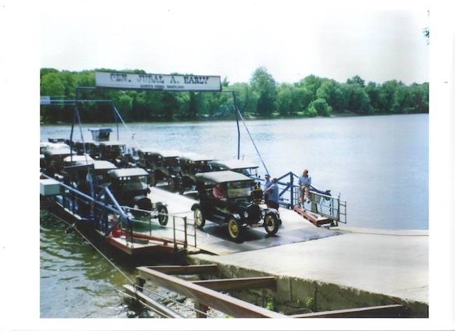 historic photo of White's Ferry