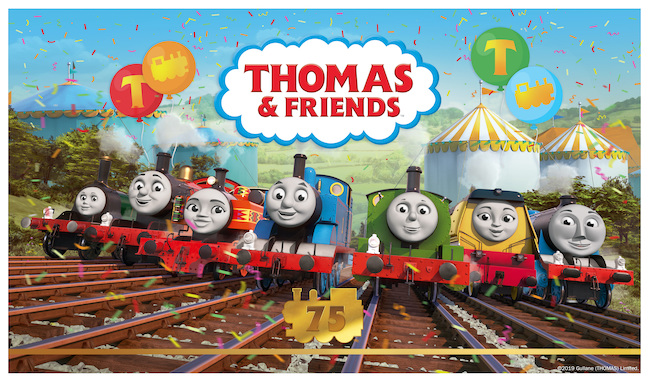 Thomas and Friends 75th Anniversary