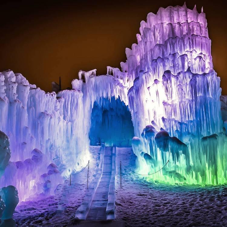 Ice Castles Bridge