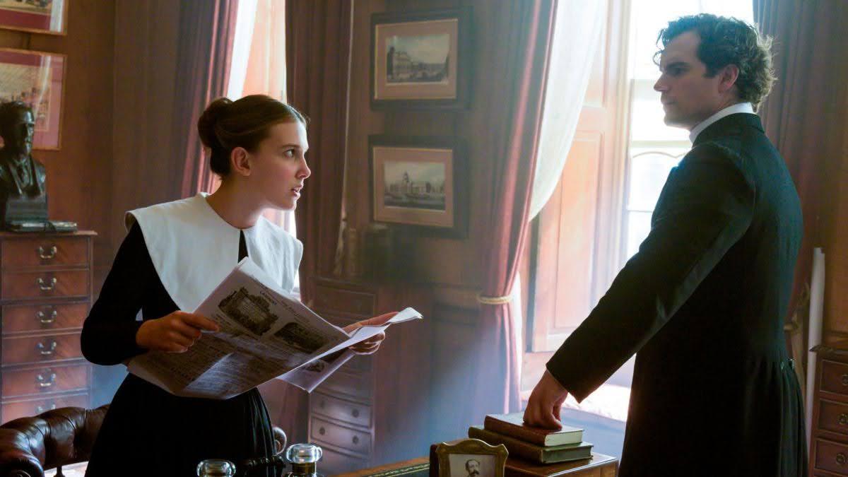 Enola and Sherlock