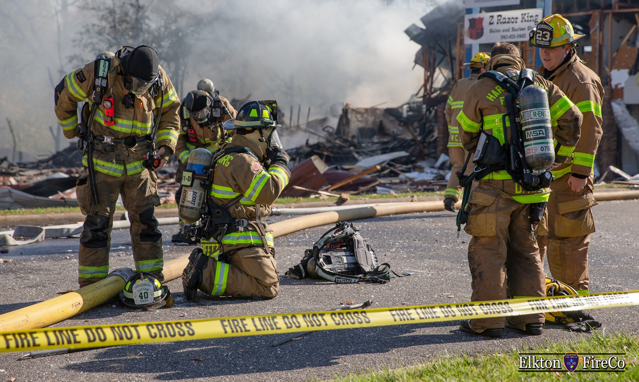 Harrisonburg Explosion