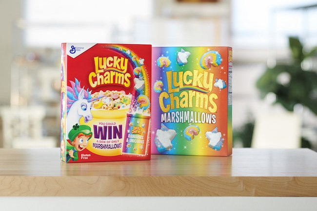Lucky Charms 2019 Marshmallow only boxes, courtesy General Mills