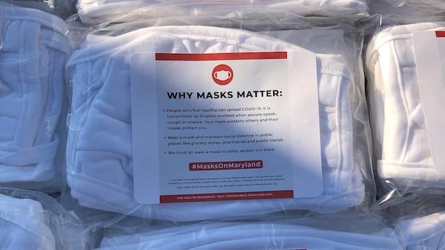 Maryland masks
