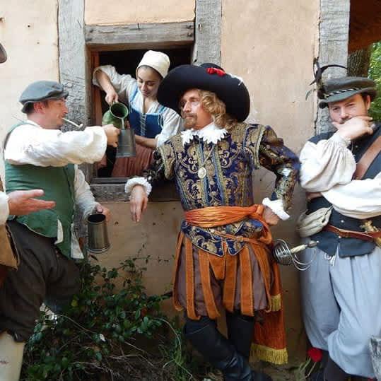 Costumed Actors