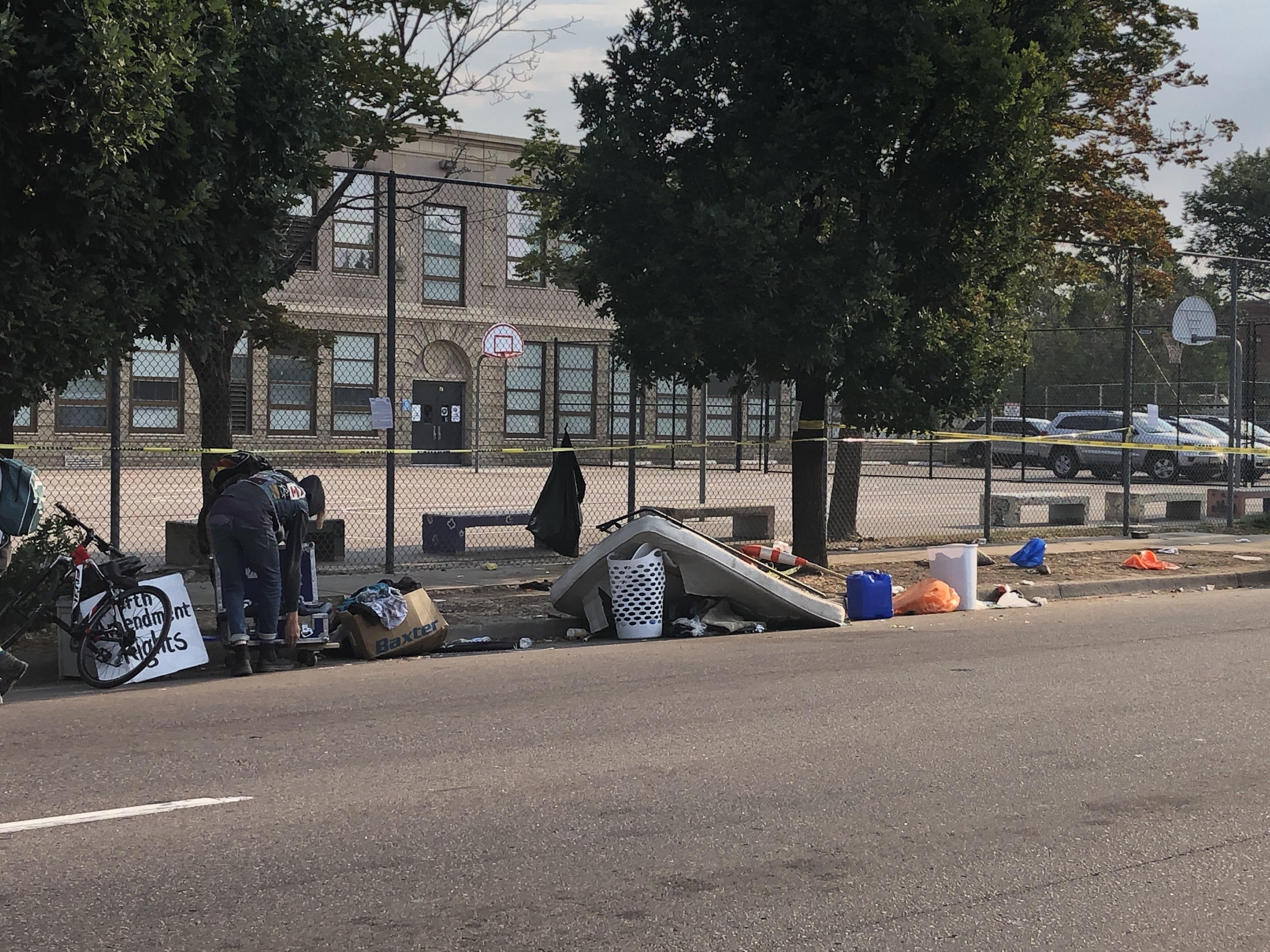homeless camps in denver