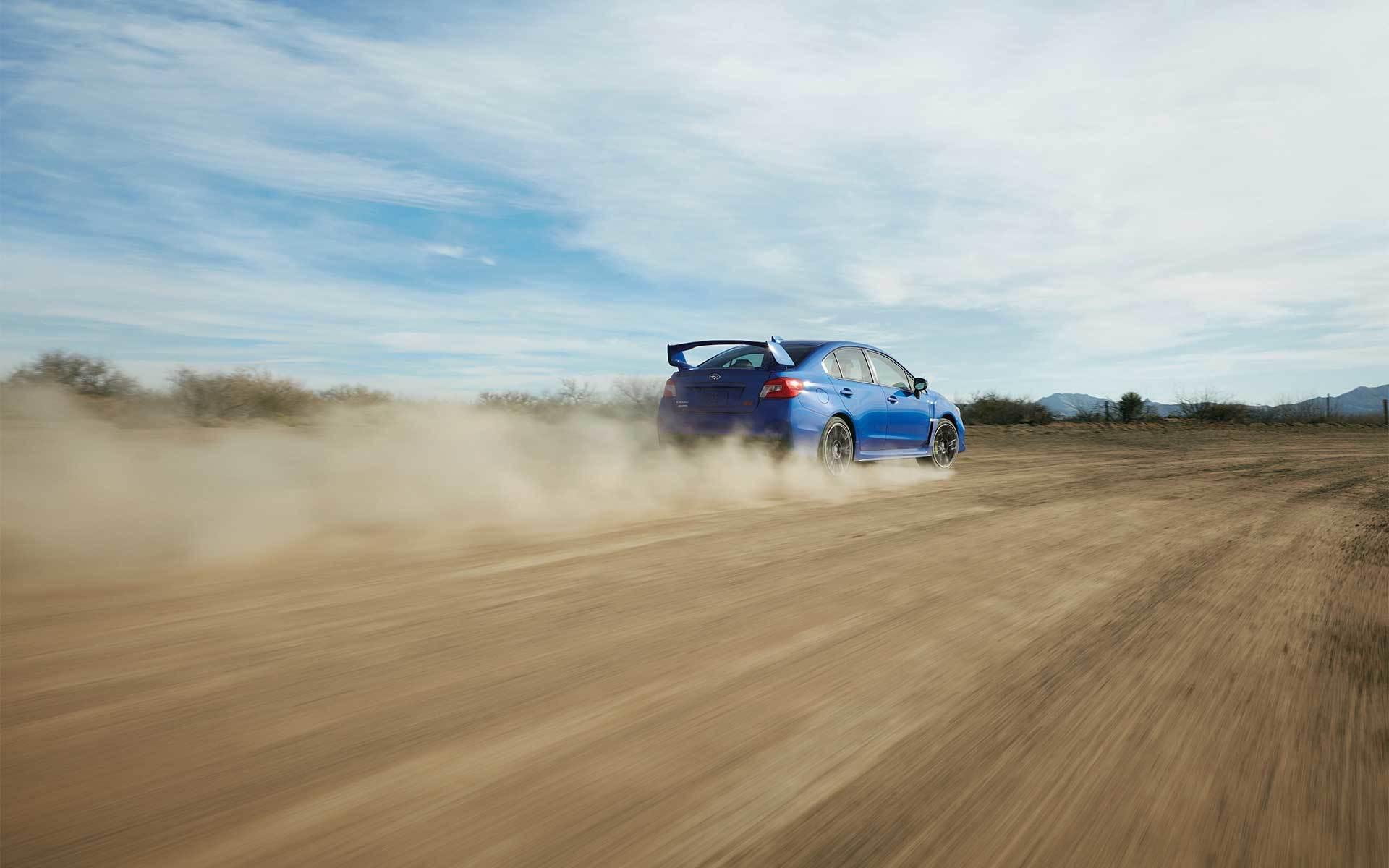2020 WRX STI Racing on Dirt