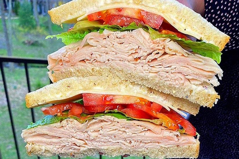 Broom's Bloom sandwich