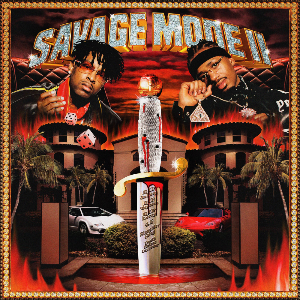 21 Savage Savage Mode 2 Album Cover