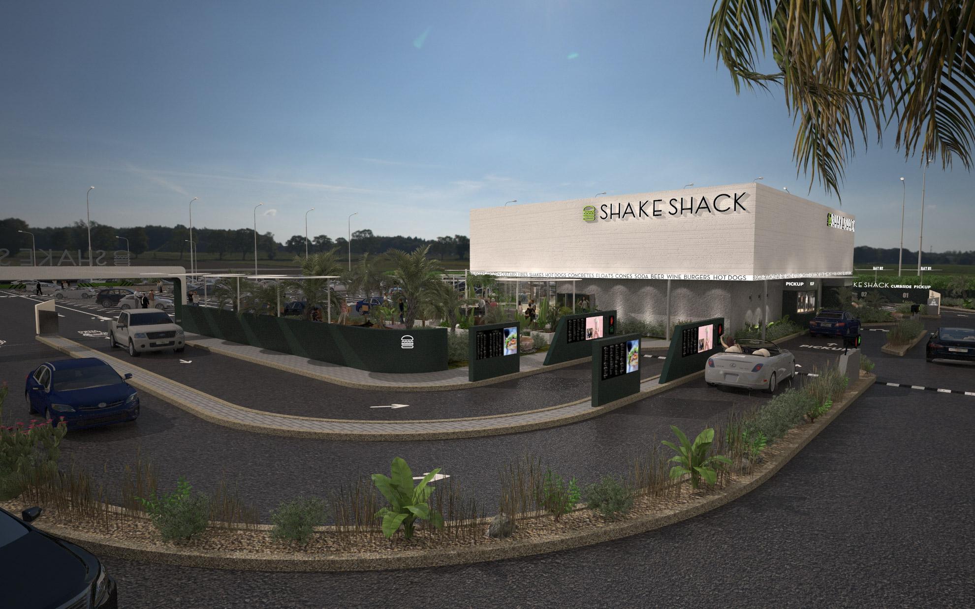 shake shack drive-thru