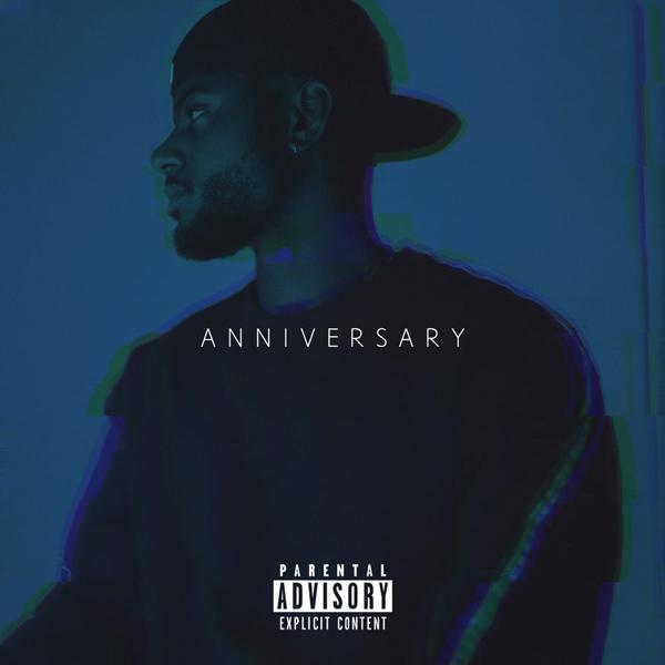 Bryson Tiller's Anniversary Album Cover