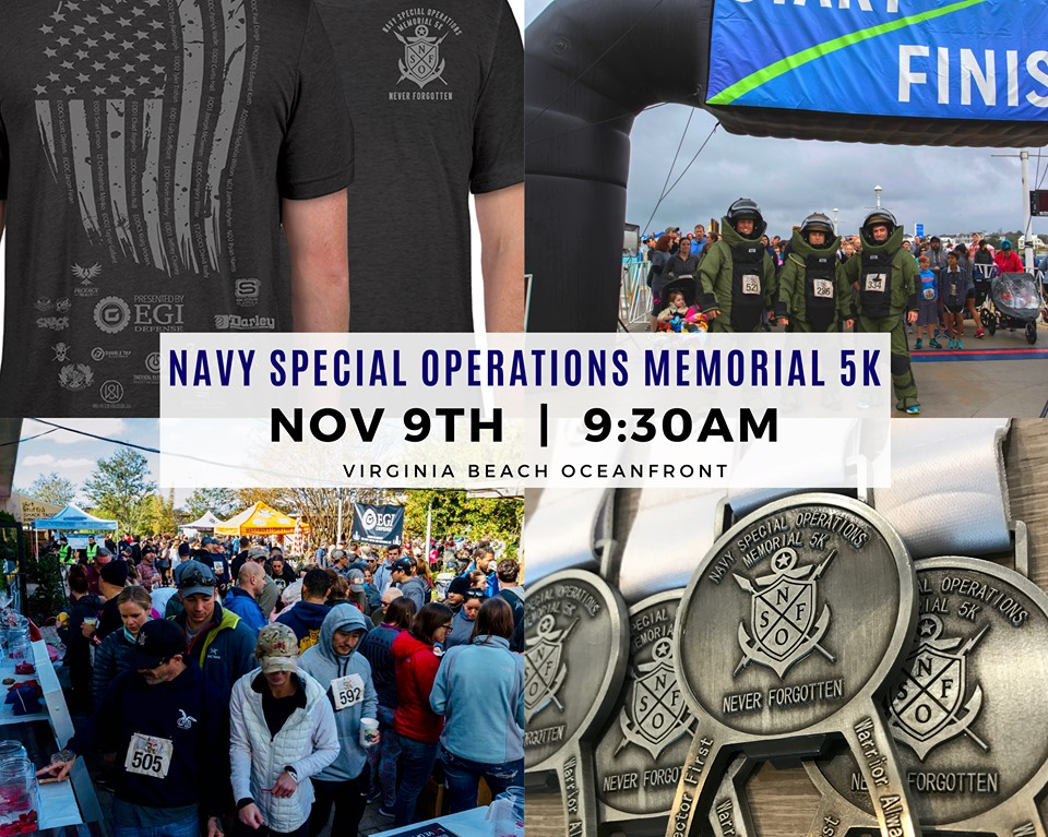 Navy Special Operations Memorial 5K Banner
