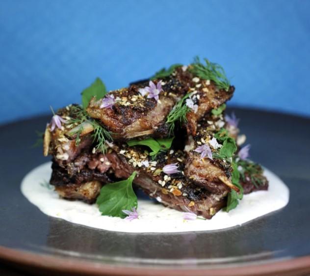 lamb meat ribs