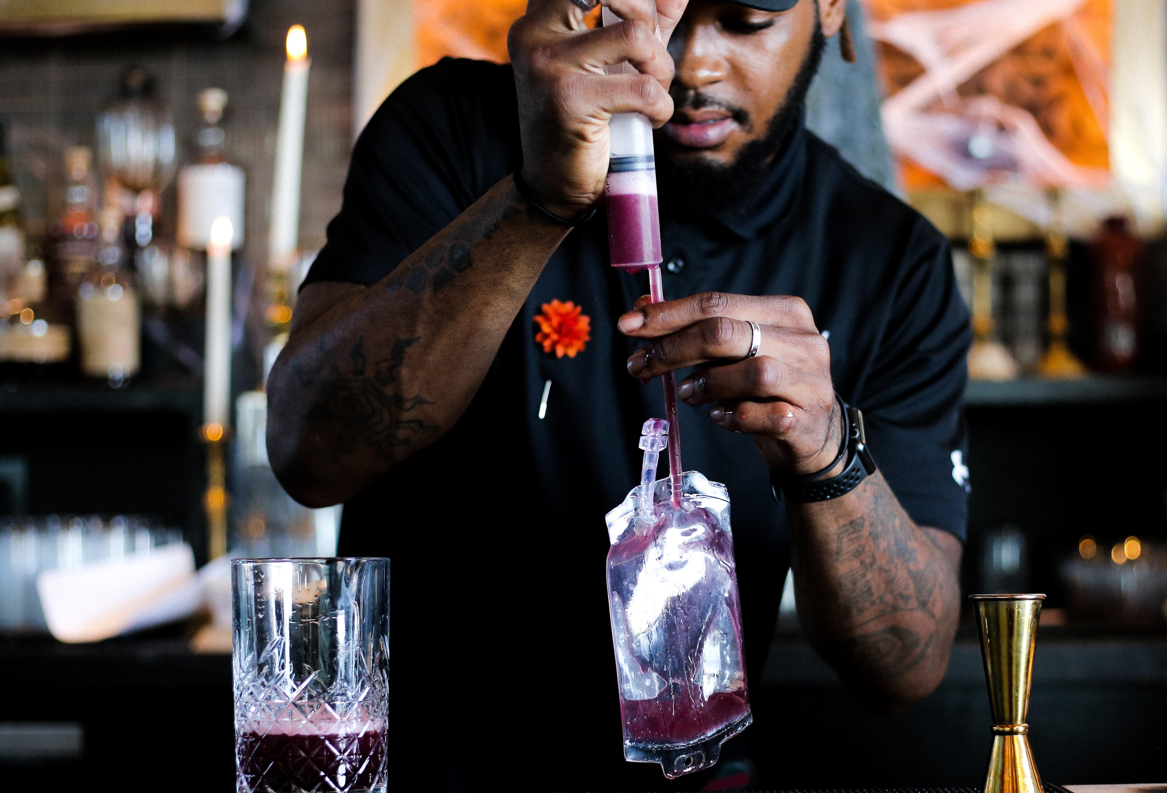 Whiskey Charlie bartender