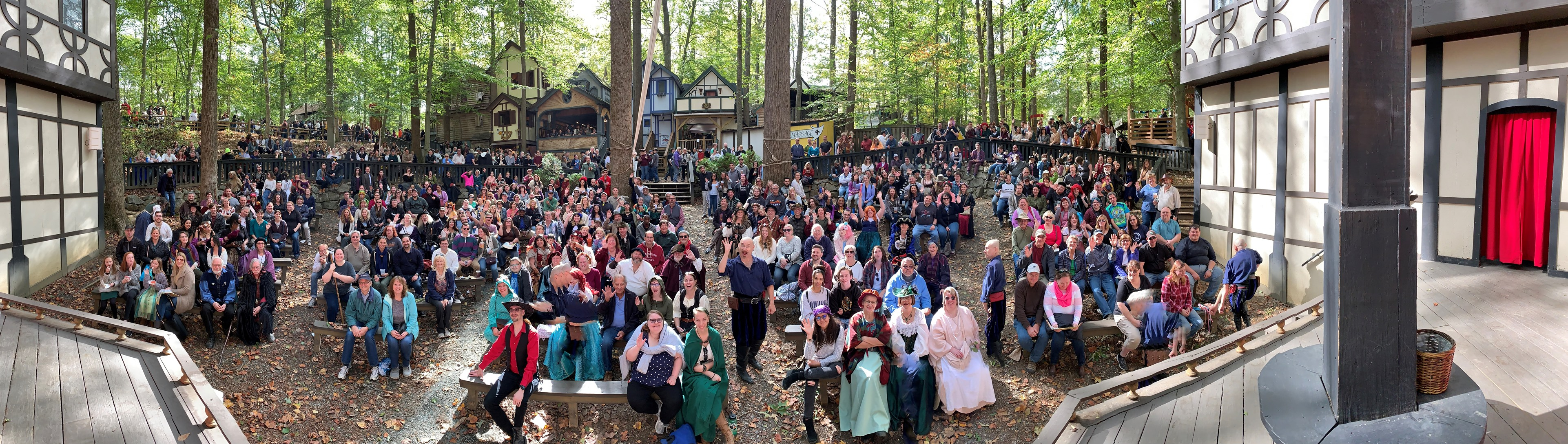 Audience at MD Renn Fest