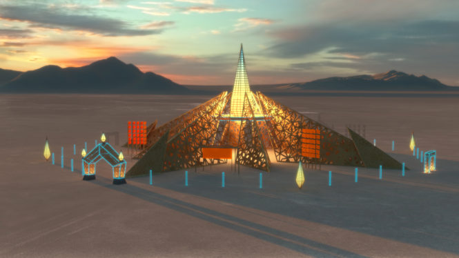 burning man empyrean temple