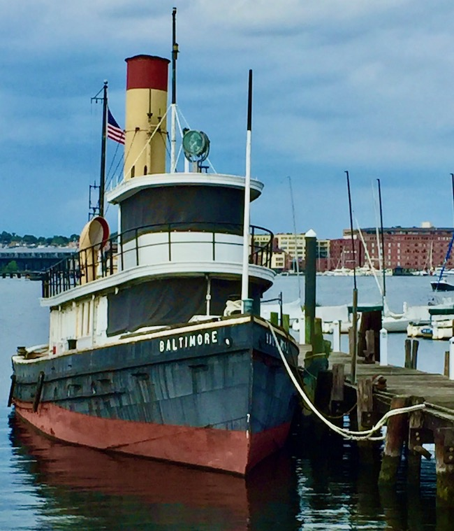 "The ""Baltimore"" Steam Tugboat, Christa Emmer"