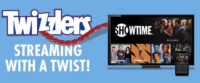 Twizzlers Showtime promotion