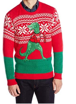 sweater dinosaur