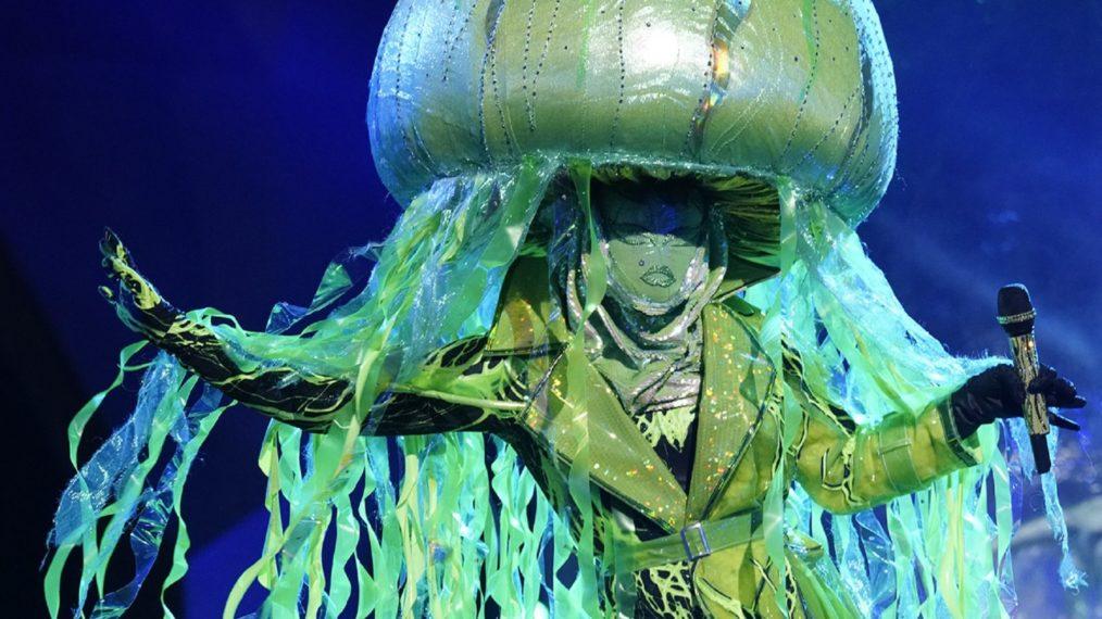 Green jellyfish costume
