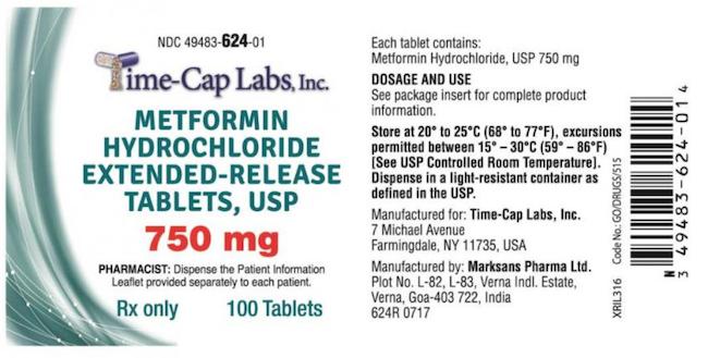 Time -Cap Labs metformin