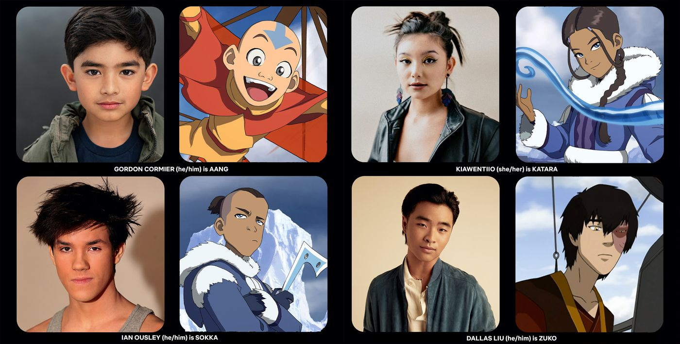 avatar netflix cast